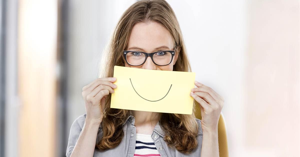 Smiling Unhappy